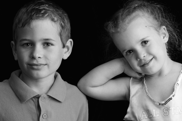Brother Sister Portrait